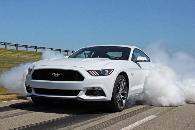 Mais non, ça n'avait absolument pas l'air de... (Photo : Ford)