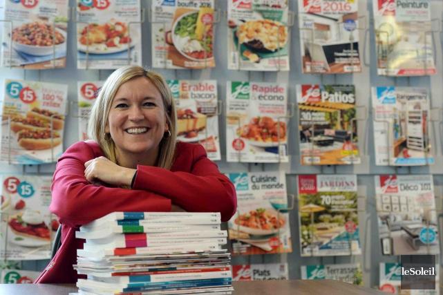 Caty Bérubé est présidente et éditrice des Éditions... (Le Soleil, Erick Labbé)