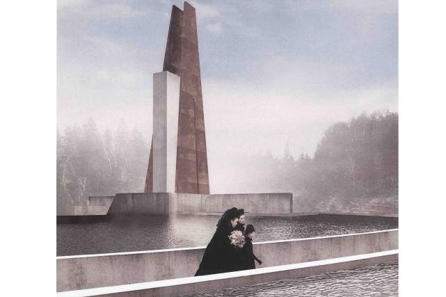 La tour qui s'élève vers le ciel se... (Fournie par Luca Fortin)