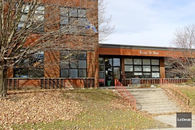 L'école Saint-Paul, dans le secteur Hull, sera fermée... (Patrick Woodbury, Le Droit)