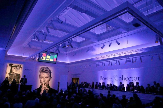 Le chanteur britannique «avait comme collectionneur la même... (PHOTO Peter Nicholls, REUTERS)