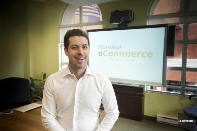 Le fondateur et président de Monsieur eCommerce, David... (Sylvain Mayer, Le Nouvelliste)