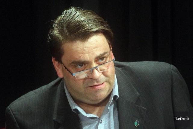 Le conseiller du district Masson-Angers, Marc Carrière... (Etienne Ranger, Archives Le Droit)