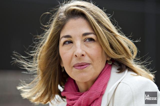 Naomi Klein est l'auteure deNo Logo: la tyrannie... (archives La Presse)