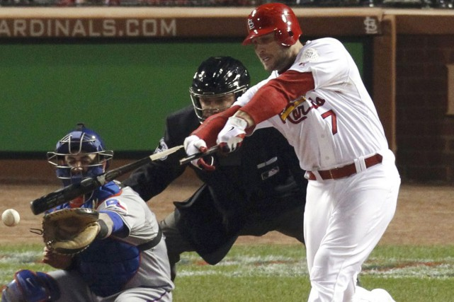 Matt Holliday... (Photo archives Reuters)