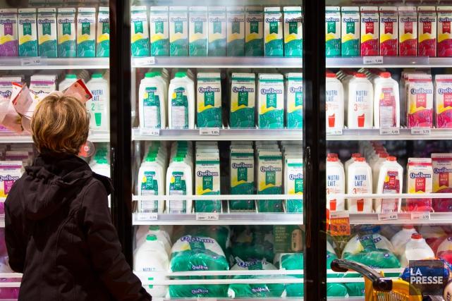 À la Fédération des producteurs de lait du... (archives La Presse)