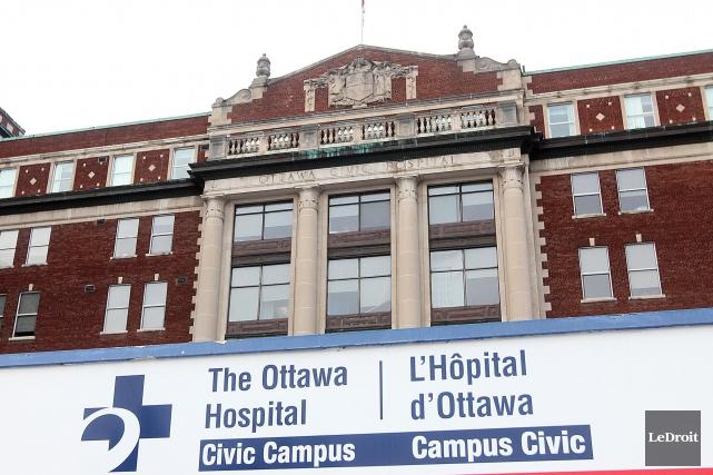Le campis Civic de l'Hôpital d'Ottawa... (Etienne Ranger, Archives Le Droit)