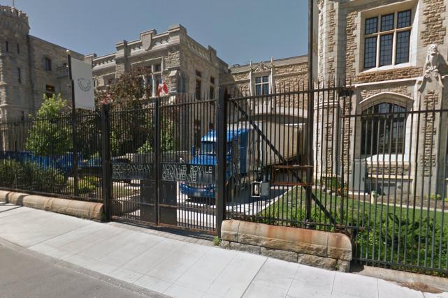 Le voleur travaillait à la Monnaie royale canadienne... (tirée de Google Street View)