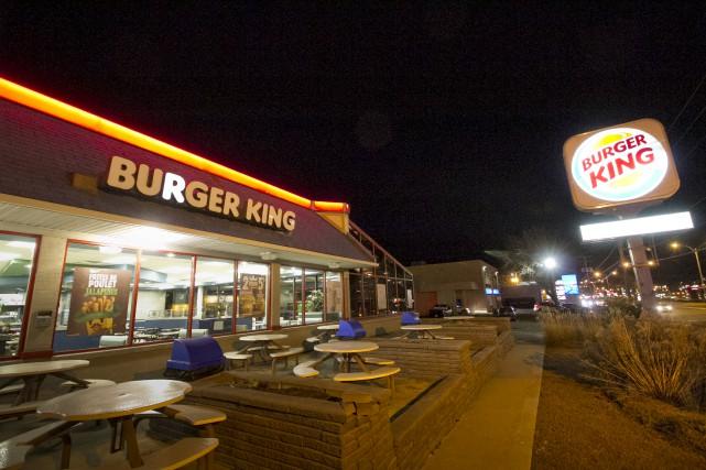 La chaîne de restauration rapide Burger King fermera... (Spectre Média, René Marquis)