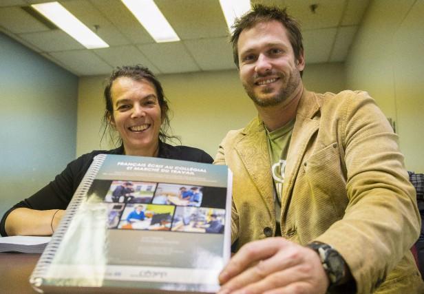 Julie Pelletier et Guillaume Lachapelle, professeurs et chercheurs... (Spectre Média, Marie-Lou Béland)