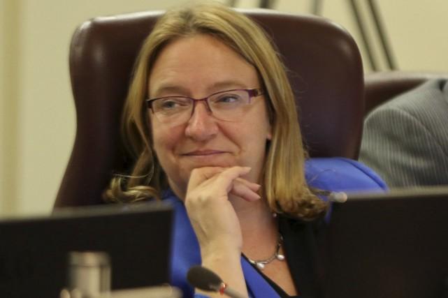 Six conseillers voteront contre le budget, dont la... (Patrick Woodbury, Le Droit)
