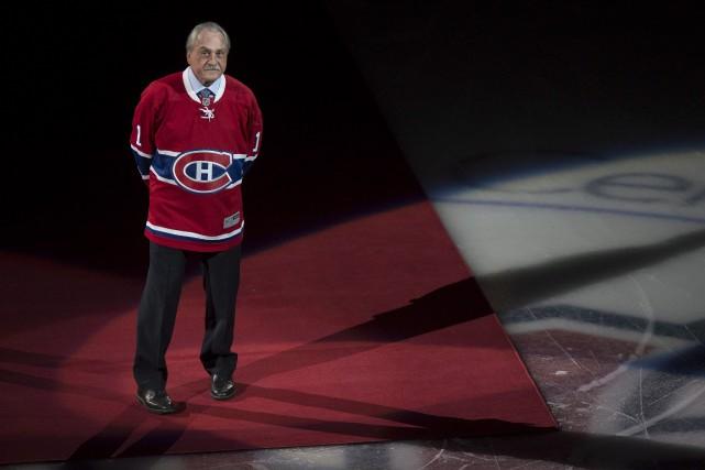 Rogatien Vachon, ancien gardien du Tricolore, a été... (La Presse canadienne, Paul Chiasson)