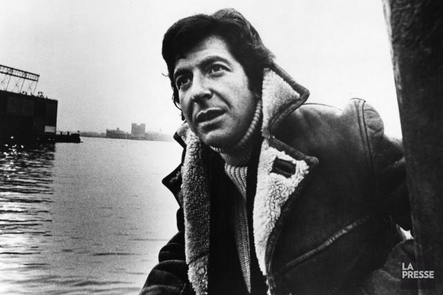 Leonard Cohen en 1970... (Archives La Presse)