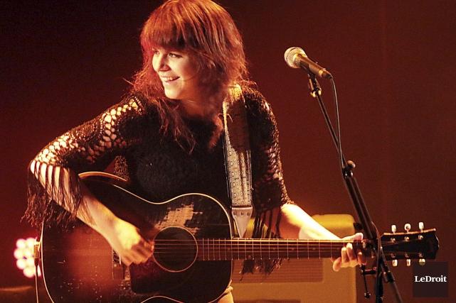 Lisa Leblanc était en spectacle àla salle Jean-Despréz.... (Etienne Ranger, Le Droit)