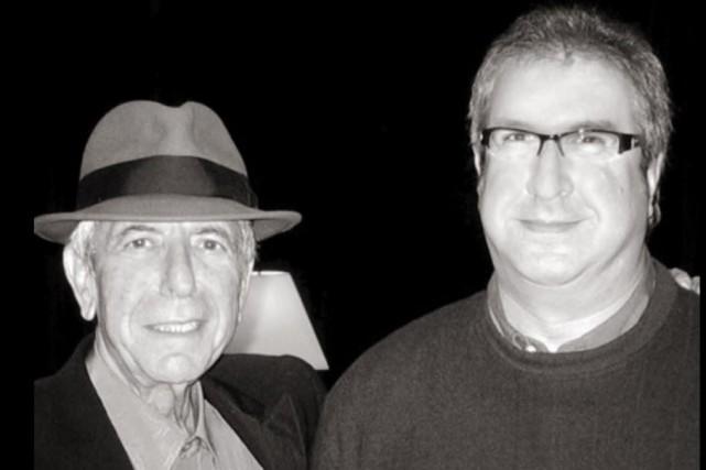 Leonard Cohen et Robert Hakim...