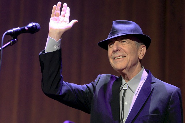Le chanteur Leonard Cohen, qu'on surnommait «le parrain... (Focus1 - Le Soleil)