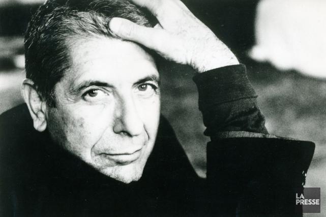 Leonard Cohen, le 16 avril 1993... (Archives La Presse)