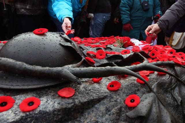 Le jour du Souvenir est une occasion de... (Archives La Presse canadienne)