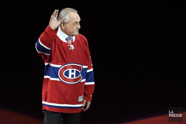 Rogatien Vachon a renoué jeudi avec une organisation... (Photo Bernard Brault, La Presse)