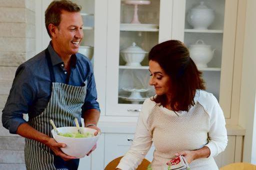 Ricardo et sa conjointe, Brigitte Coutu, lancentune collection... (Photo fournie par Ricardo Media)