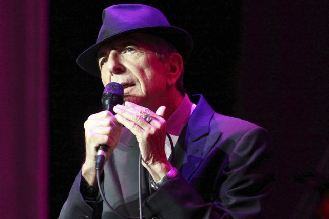 Leonard Cohen en spectacle à Atlanta en mars... (PHOTO ARCHIVES AP)