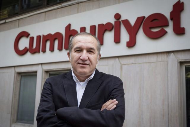 Akin Atalay, le président du directoire du quotidien,... (photo Vedat Arik, archives cumhuriyet/AP)
