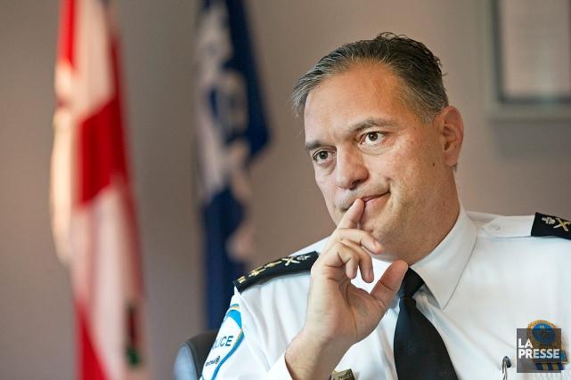 Le directeur du SPVM, Philippe Pichet.... (PHOTO ROBERT SKINNER, ARCHIVES LA PRESSE)