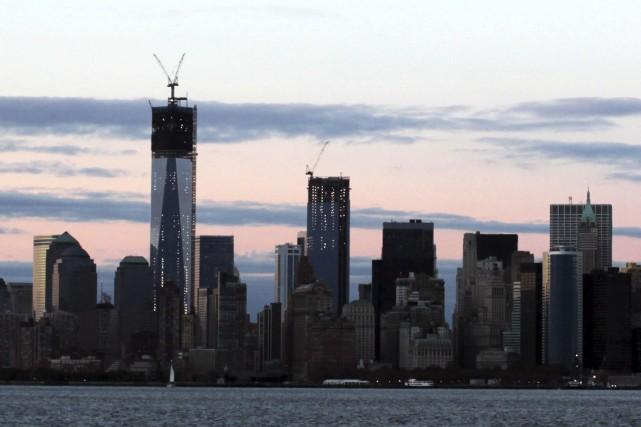 Après 30 centimètres depuis 1900, New York pourrait... (AFP, Medhi Taamallah)
