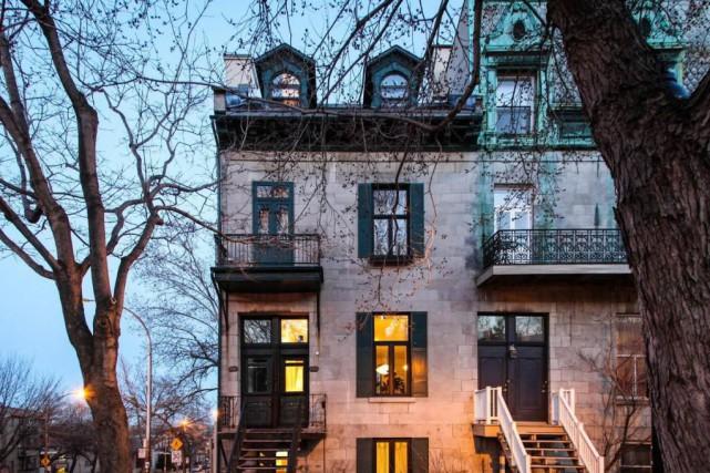 La maison est la dernière de la rangée.... (Photo fournie par Groupe Sutton-Clodem)