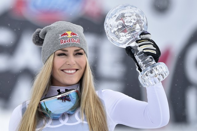 Lindsey Vonn... (Photo Fabrice Coffrini, archives AFP)