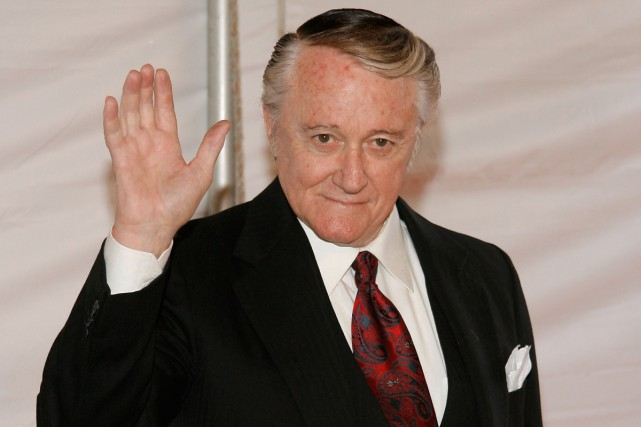 L'acteur américain Robert Vaughn en octobre 2007.... (PHOTO ARCHIVES AFP)