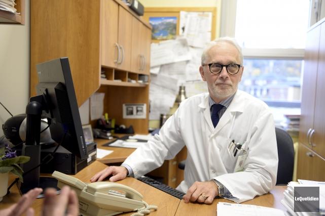 Parmi les défis qui attendent le Dr Jean-François... (Le Quotidien, Jeannot Lévesque)