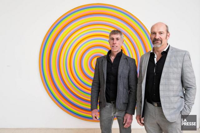 François St-Jacques et Rhéal Olivier Lanthier, fondateurs de... (PHOTO ÉDOUARD PLANTE-FRÉCHETTE, LA PRESSE)