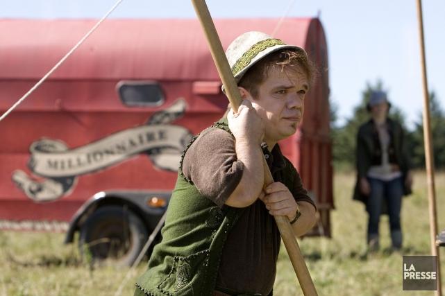 L'acteurPaul Cagelet, dans le film Magique.... (Archives La Presse, Alain Roberge)