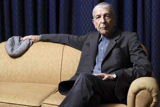 Armand Vaillancourt aime rappeler que Leonard Cohen (photo),... (La Presse Canadienne)