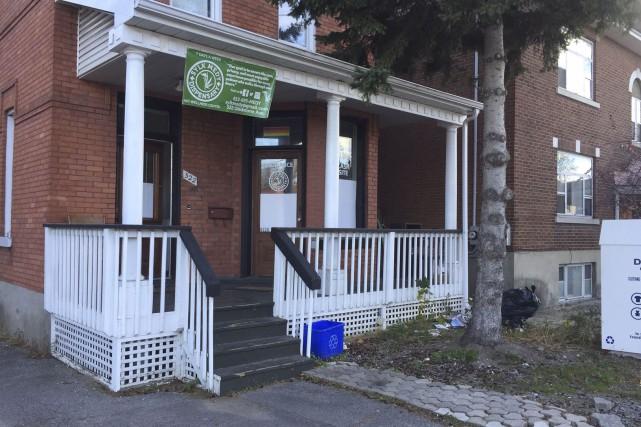 Un vol en plein jour a eu lieu dans un dispensaire de cannabis d'Ottawa,... (Courtoisie)