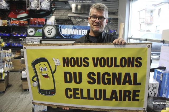 Dany Morin est président du comité «Le cellulaire... (Le Quotidien)
