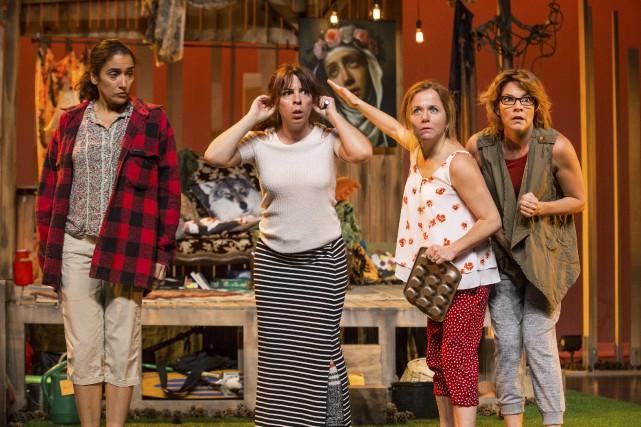 Stéphanie, Isabelle, Mimi et Claude sont de retour. Et cette fois, les quatre... (Courtoisie)