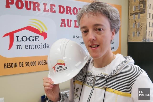 Sonia Côté, coordonnatrice de Loge m'entraide... (Archives Le Quotidien)
