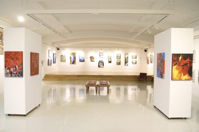 La galerie Boréart reçoit le collectif d'artistes féminins... (Janick Marois)
