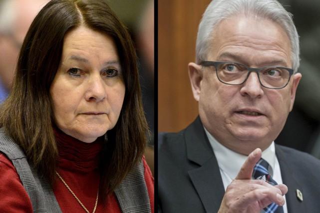 Nicole A. Gagnon et Jean-François Rouleau, deux élus... (Archives, La Tribune)