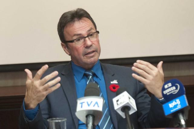 Le maire de Shawinigan, Michel Angers... (Sylvain Mayer)