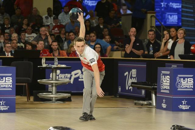 Avec sa victoire, François Lavoie a empoché une... (fournie par la Professionnal Bowling Association)