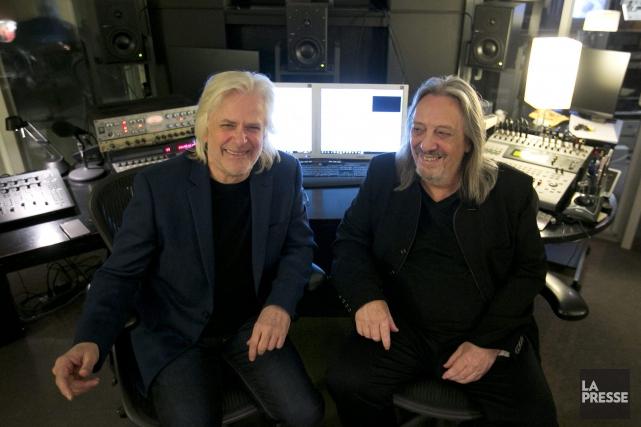 Louis Valois et Serge Fiori.... (Photo La Presse)