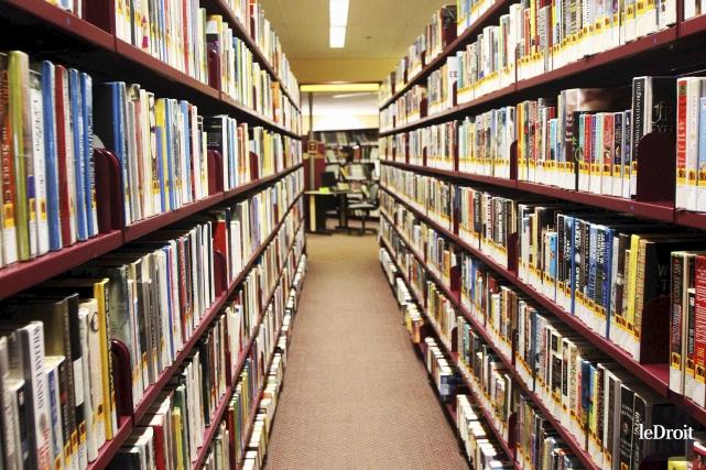 Seconde plus fréquentée à Gatineau, la bibliothèque Lucy-Faris... (Etienne Ranger, archives LeDroit)