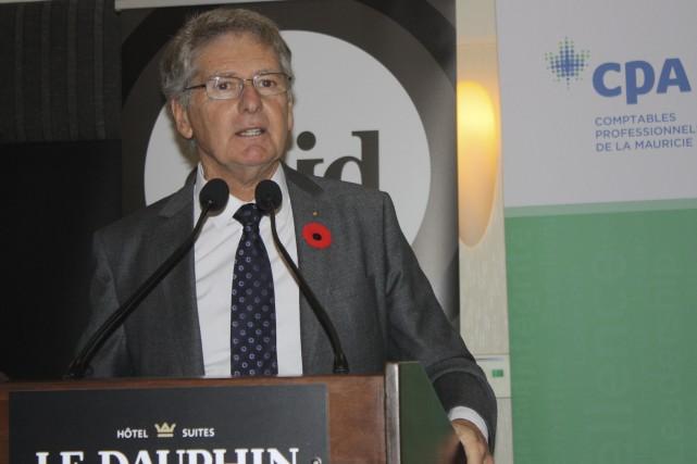 L'ancien délégué général du Québec à New York,... (La Tribune, Yanick Poisson)