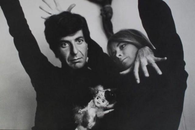 Marianne Ihlen avec Leonard Cohen en 1966... (Photo archives La Presse)