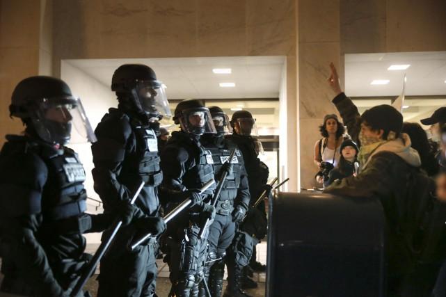 Les autorités ont fait état de plusieurs actes... (AP, Stephanie Yao Long)