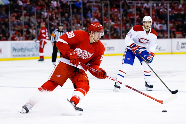 Anthony Mantha disputera samedi soir son premier match de... (Photo Rick Osentoski, archives USA Today)