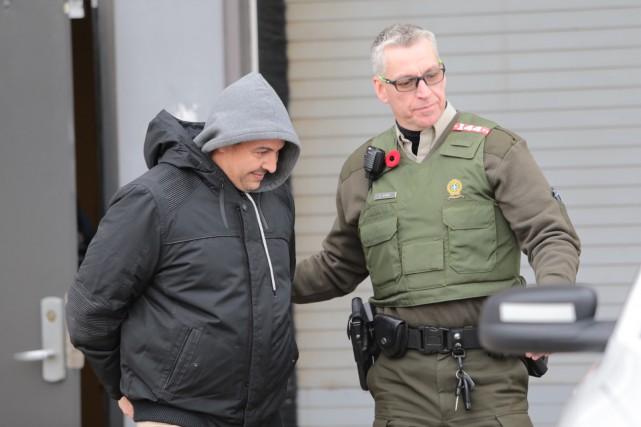 Richard Vallières a été reconnu coupable du vol... (Olivier Croteau)